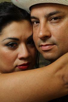 Free Headshot Of A Couple Stock Image - 6431021