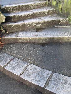 Free Stone Steps Royalty Free Stock Photos - 6431488