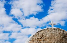 Free Church And Blue Sky Royalty Free Stock Images - 6432269