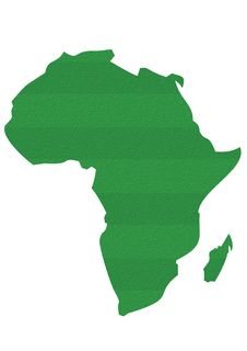 Africa Soccer Royalty Free Stock Photos