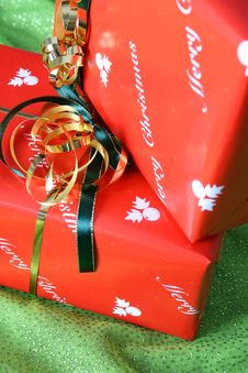Free Christmas Gifts Stock Photography - 6432692
