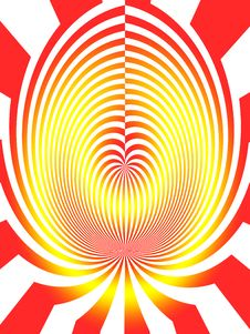 Free Abstract Red Yellow Background Stock Image - 6432851