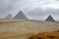 Free Three Pyramids Stock Photo - 6433880