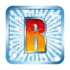 Free Alphabet Celebration Letters R Royalty Free Stock Photos - 6434118