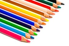 Free Beautiful Color Pencils Stock Photos - 6434613
