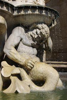Free Architectural Detail Of Fountain. Vienna, Austria Stock Image - 6434911