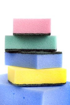 Free Bath Sponges Stock Photography - 6435042