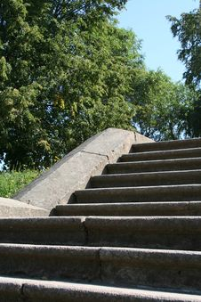 Stony Staircase Royalty Free Stock Images