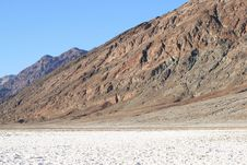 Badwater, Death Valley Royalty Free Stock Photo