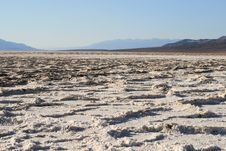 Free Badwater, Death Valley Stock Photo - 6435280