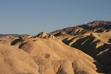 Free Zabriskie Point Royalty Free Stock Images - 6435389