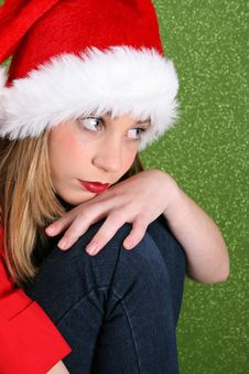 Free Christmas Thoughts Royalty Free Stock Photos - 6435398
