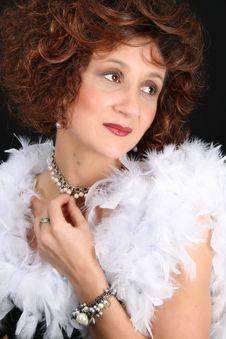 Stylish Lady Stock Images