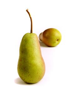 Appetizing Pears Stock Images