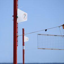 Free Beach Voley Nets Royalty Free Stock Photo - 6435755