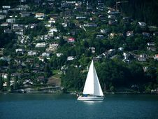 Free Boat On Lake Lucerne/Luzern (Switzerland) Royalty Free Stock Photography - 6435767
