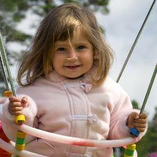 Free Girl On Swing Stock Photos - 6435853
