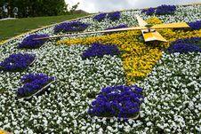 Free Flower Clock 4 Royalty Free Stock Photo - 6436065
