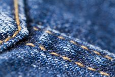 Free Denim Texture Stock Images - 6436184