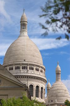 Free Basilica Sacré-Coeur Of Paris Royalty Free Stock Images - 6436809