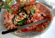 Free Cold Cooked Meats Stock Photos - 6436953