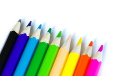 Free Pencils Royalty Free Stock Images - 6437469