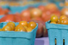 Tomatoes At The Farmer S Market Royalty Free Stock Photography