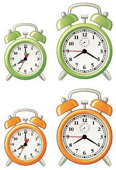 Free Various Alarm Clocks Royalty Free Stock Images - 6438559