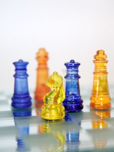 Free Knight Chess Game Royalty Free Stock Images - 6438789