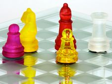 Free Knight And Pawn Stock Photography - 6438882