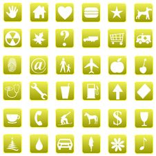Free Web Buttons Stock Photos - 6439303