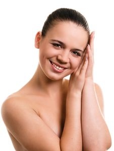 Free Smiling Young Woman Royalty Free Stock Image - 6439366