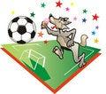 Free Wolf Football Stock Photo - 6443100