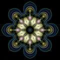 Free Pretty Jeweled Mandala Royalty Free Stock Images - 6445289