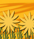 Free Abstract Sunshine Sunflowers Royalty Free Stock Images - 6447189