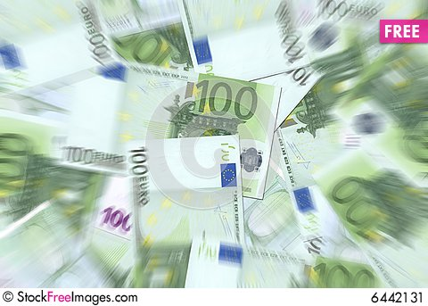 Free 100 Euro Notes Texture Stock Image - 6442131
