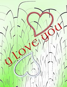 Free Y Love You Royalty Free Stock Images - 6440129