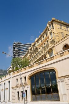 Free Bulding In Monaco Stock Image - 6440431