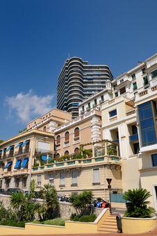 Free Monaco S Facades Stock Photo - 6440470