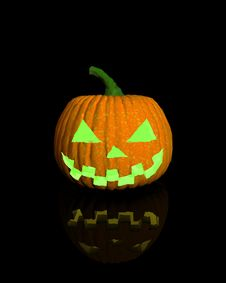 Free Halloween Pumpkin Stock Image - 6441271