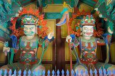 Free Korean Buddhist Temple Stock Image - 6441801