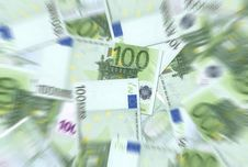 Free 100 Euro Notes Texture Stock Image - 6442131