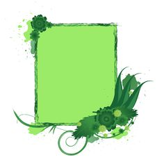 Free Green Background Stock Photography - 6442812