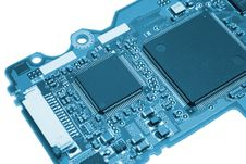 Free Computer Board In Blue Style Stock Photo - 6442880