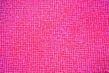 Free Close-up Picture Of Genuine Pink Upholstery Royalty Free Stock Image - 6442986