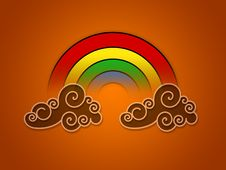 Free Rainbow On Clouds Stock Photos - 6443813