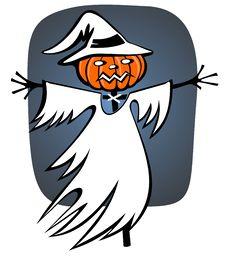 Halloween Scarecrow Stock Photos