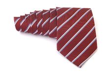 Red Business Tie