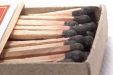 Free Match Sticks And Matchbox Royalty Free Stock Images - 6443989