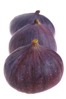 Free Three Fresh Figs Royalty Free Stock Photo - 6444515